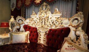 Rania Hand Crafted Luxury Bedroom Set Buy Online in India Brand Royalzig