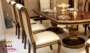 Royal Antique Kitchen Table and Chairs Online in India