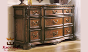 Royal Chest Of Drawers Hand Carved