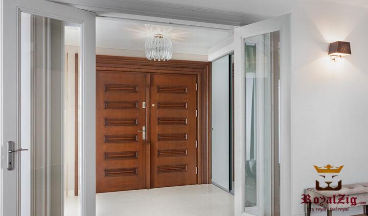 Royalzig Classical Style Big Doors