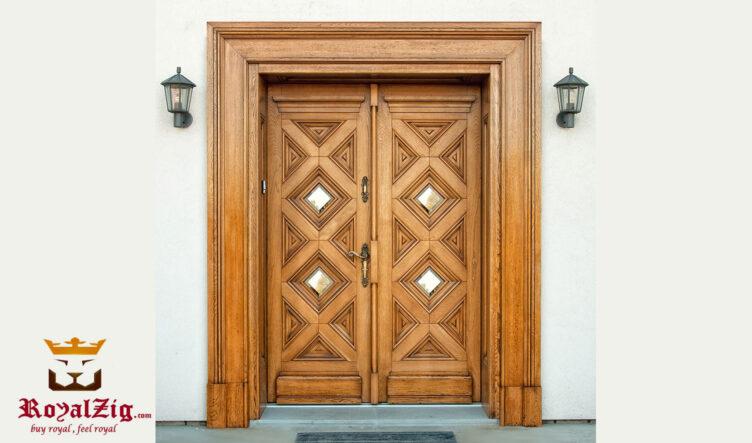 Royalzig Classic Style Wooden Door