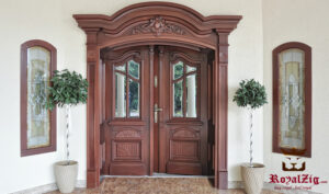 Royalzig European Style Exterior Door