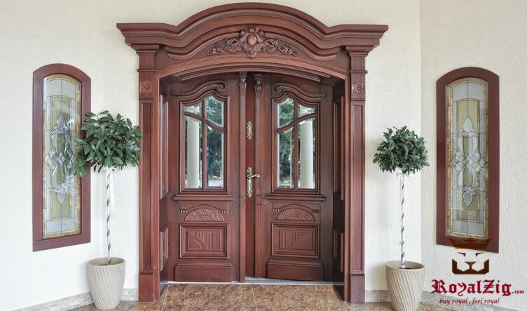 Royalzig European Style Exterior Door
