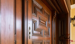 Royalzig Hand Crafted Panel Exterior Door