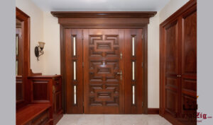 Royalzig Hand Crafted Panel Exterior Door