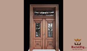 Royalzig Low Carving Double Door