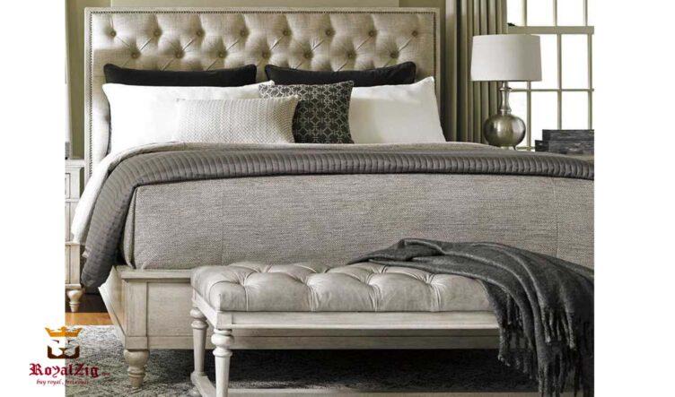 Royalzig Modern Panel Bed