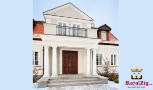 Royalzig Classical Style Panel Door