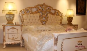 Saharanpur Style Luxury Bedroom Set Online in India