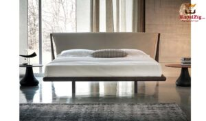 Shen Contemporary Low Platform Bed