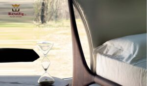 Shen Contemporary Low Platform Bed Brand Royalzig Luxury Furniture