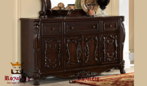 Shisham Wood Crafted Chest Of Drawers