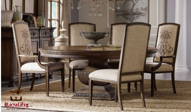 Snowmass Antique Modern Style Dining Table Online in India