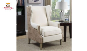 Swatch Leather Accent Chair