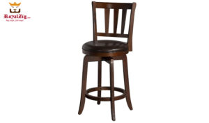 Teak Wood Bar Stool Brand Royalzig