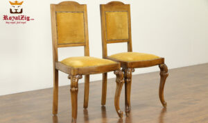 Tudor Antique Style Dining Chair