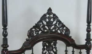 Victorian Anglo Indian Style Four Poster Bed Online in India