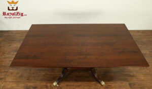 Victorian Style Teak Wood Confrence Table