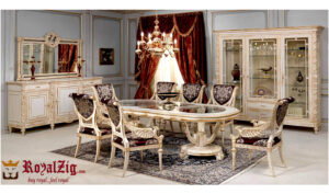 Victorian Wooden Dining Table Online in India
