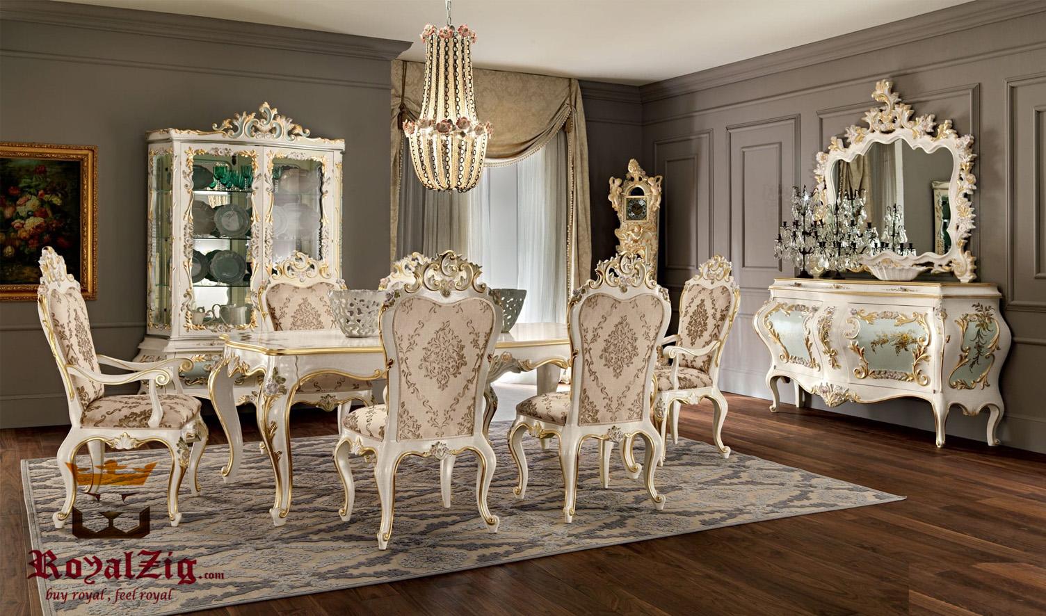 Vizag Luxury Italian Style Dining Table Set