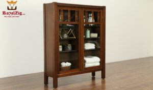 Wooden Hand Crafted Modern Style Bookcase