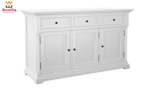 Royalzig Classic Sideboard with 3 Drawers