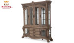 American Vintage Style China Cabinet And Buffet