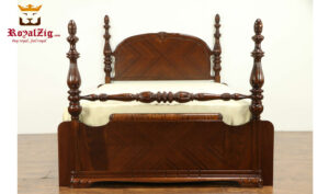 Antique Style Four Poster Bed Room Set RZABS-006