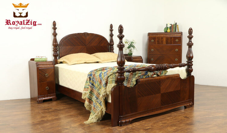 ANTIQUE EUROPEAN STYLE BEDROOM SET
