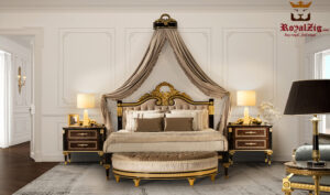 Cairo Luxury Hand Carved Designer Bed