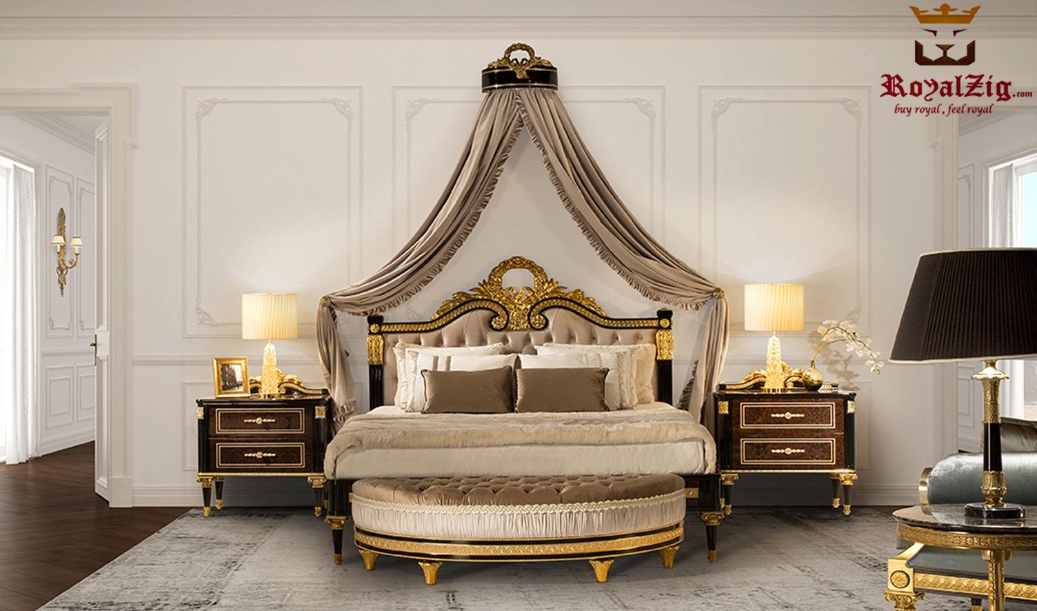 Cairo Luxury Hand Carved Designer Bed