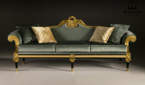 Cairo Luxury Hand Carved Designer Sofa Set