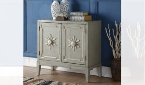 Dhruv 2 Door Accent Cabinet