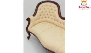 Elegant Antique Style Devan Chaise Lounge
