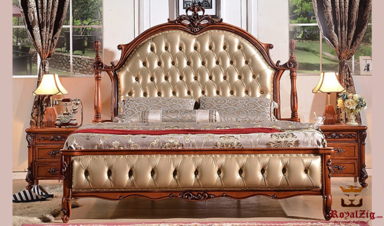 Laura Luxury Classic Italian Style Bed