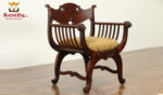 Maharaja Antique Style Hand Carved Chair