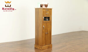 Morocco Antique Style Bathroom And Linen Cabinet