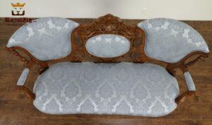Nappolen Antique Hand Carved 3 Seater Sofa Set