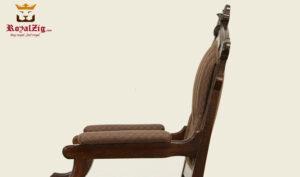 Tudor Antique Style Arm Chair