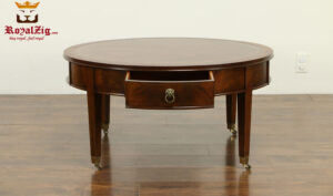 Victoria Antique Style Round Coffee Table