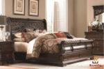 Antique Style Sleigh Bedroom Set Design