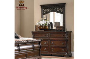 Antique Style Sleigh Bedroom Set