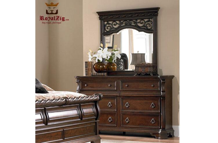 Antique Style Sleigh Bedroom Set