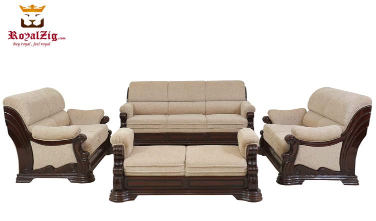 Beautiful Classical Style Tufted Sofa Set
