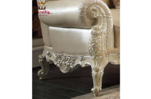 Designer Hand Carved Luxury Pearl Collection Sofa Set