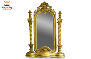 Hand Carved Wood Framed Mirrors