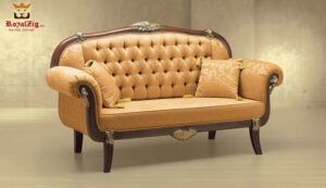 Indian Classical Style 3 Seater Sofa