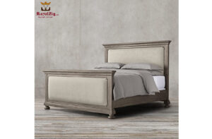 Indian Traditional Style Rustic Bed
