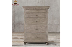 Indian Traditional Style Rustic Chest of Drawers