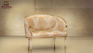 Italian Style Low Carving Loveseat
